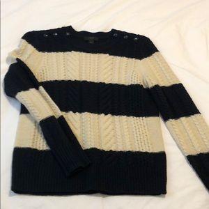 Jcrew boat neck sweater